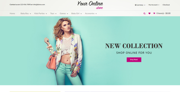 Fashion Store Responsive OpenCart Theme For Every Business