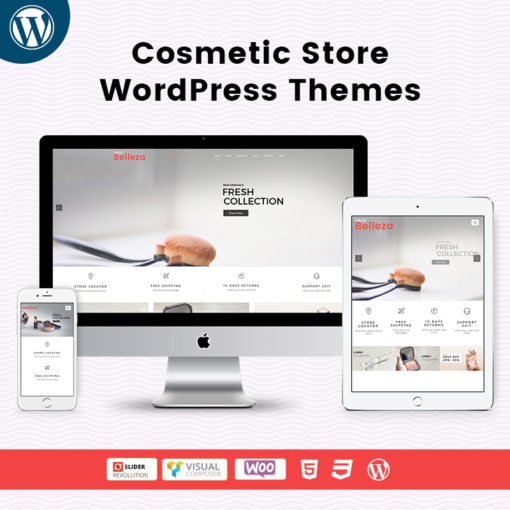Belleza Cosmetic Store WordPress Themes