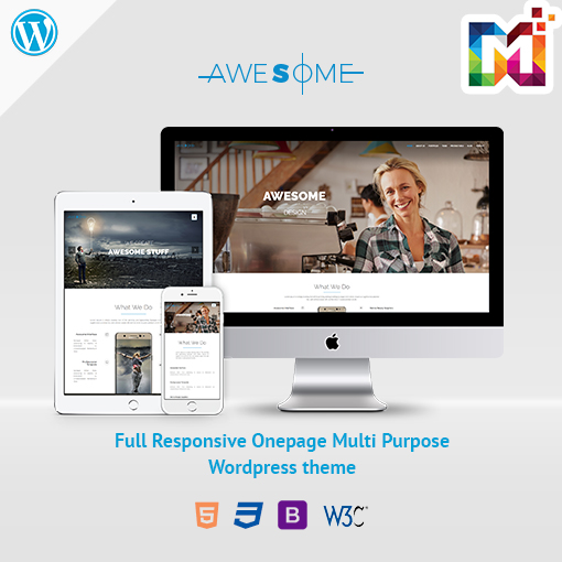 Responsive WordPress Theme Creative Business Agency