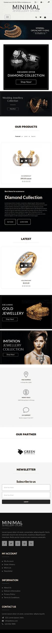 Minimal Jewellery Mobile (2)