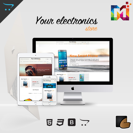 Responsive OpenCart Theme Store