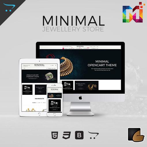 Minimal – Jewelry Responsive OpenCart Theme