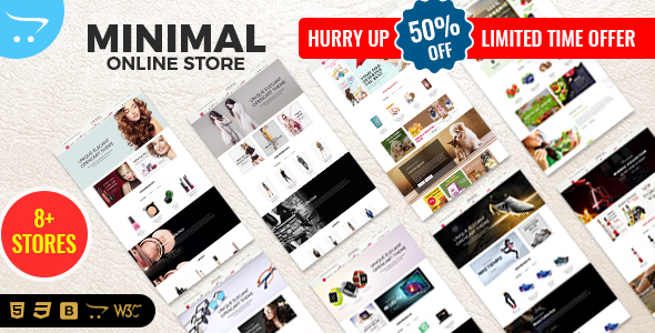 Multi-Purpose Responsive OpenCart Theme