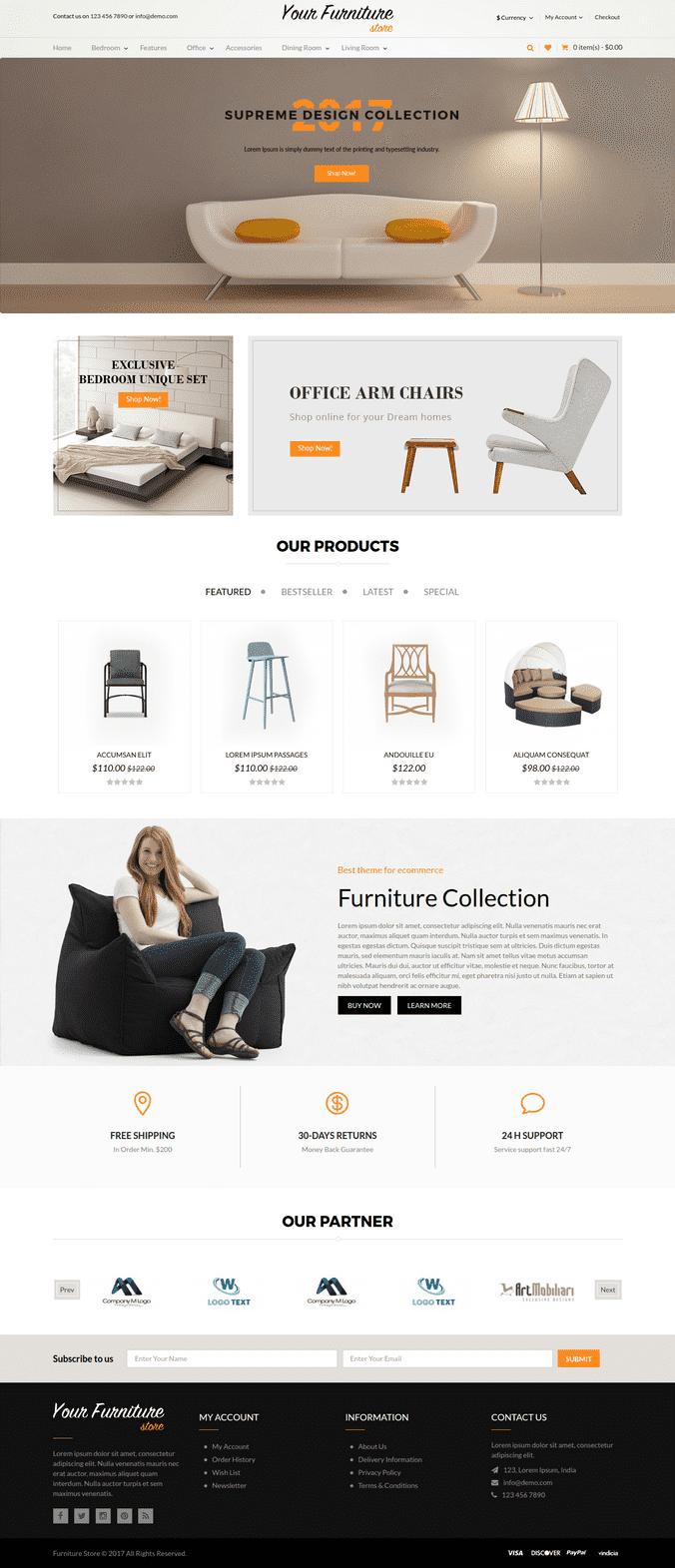 Responsive Furniture Full