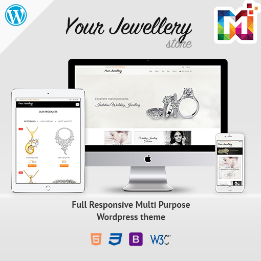 Responsive WordPress Theme WooCommerce Fashion Store