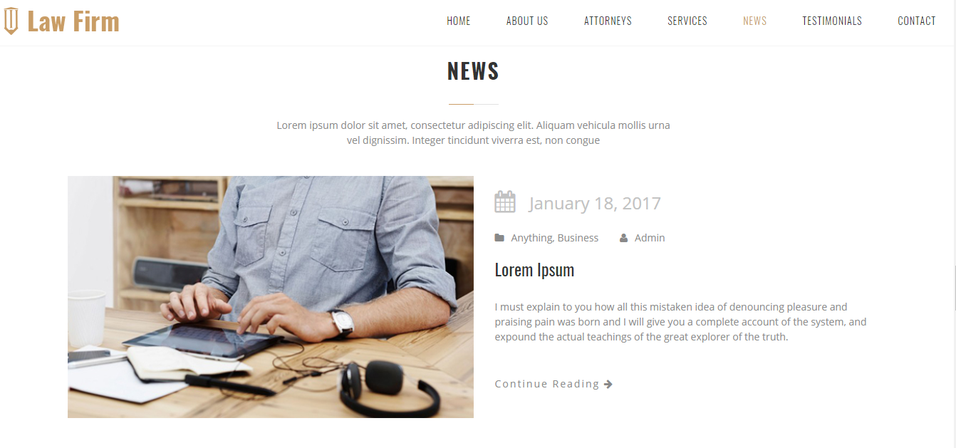 NEWS SECTION