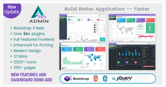 Bootstrap 4 Admin