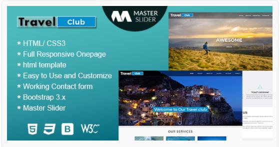 Travel – Premium Responsive HTML Template