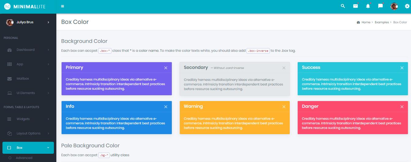 Bootstrap Admin Templates