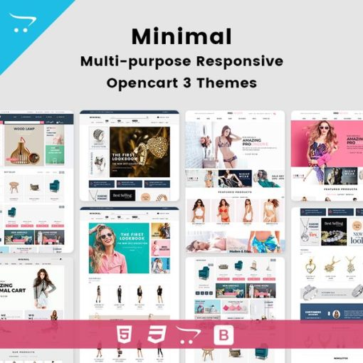 Minimal – Multi-purpose Responsive Opencart Themes