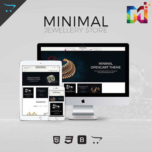 Minimal – Jewelry Responsive OpenCart Theme V2 3 0