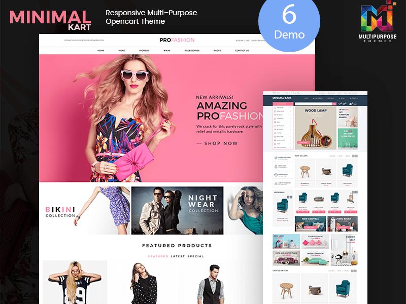Minimal – Multi-purpose Responsive Opencart 3 Themes