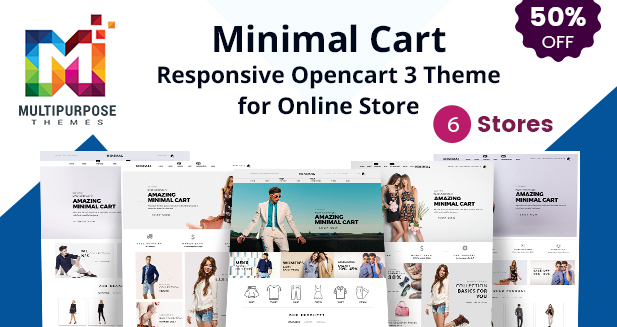 Multipurpose Responsive OpenCart 3 Theme 6 Design