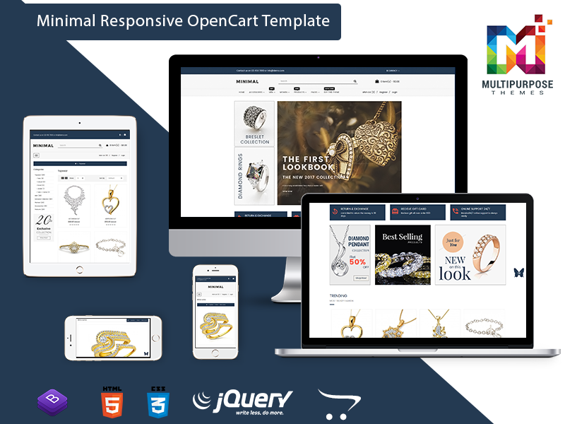 OpenCart Multipurpose Template