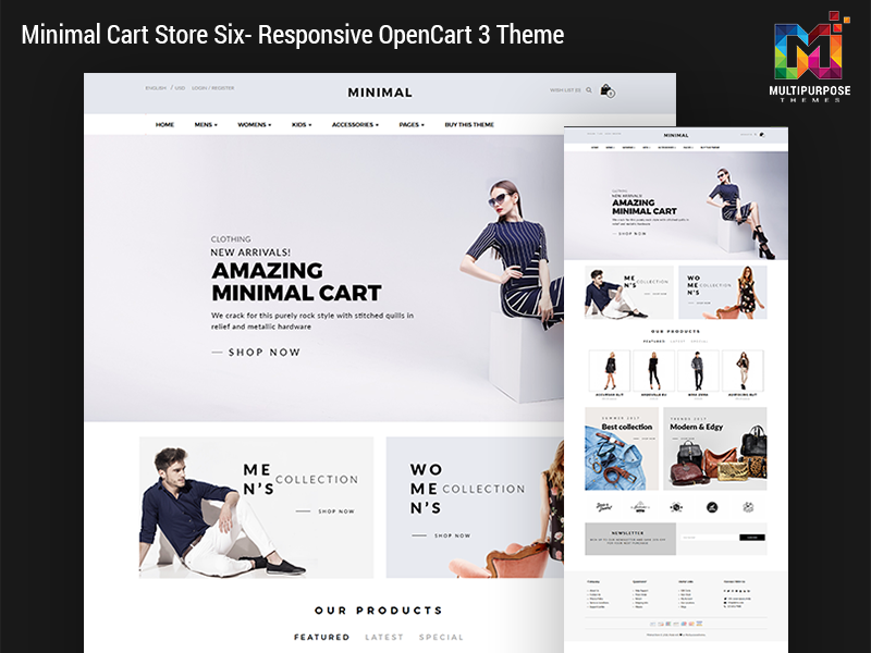 Multipurpose OpenCart Templates