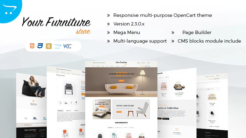 Multipurpose OpenCart Themes
