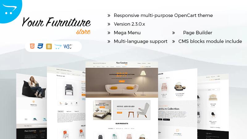 Responsive Multipurpose OpenCart Themes