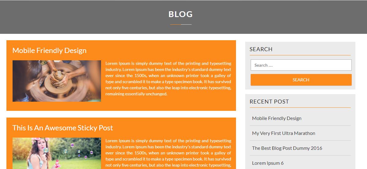 WordPress Multipurpose Themes