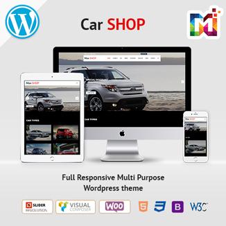 CAR – Responsive WordPress Themes For MultiPurpose