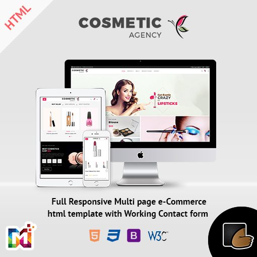 Cosmetics – Multi-Purpose HTML Template