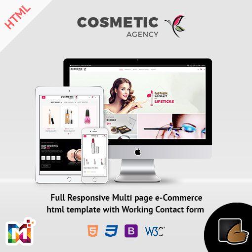 Cosmetics – Multi-Purpose HTML Template