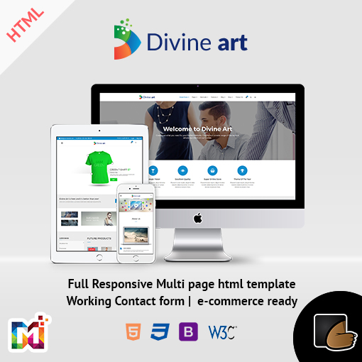 Multi-Purpose HTML5 Template