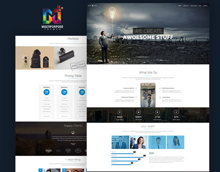 Responsive WordPress Theme