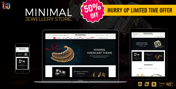 Jewelry – Opencart Multipurpose Theme