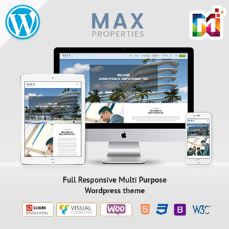 Responsive WordPress Themes For Max-Property 2