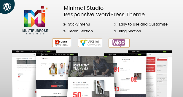 Minimal Studio – Responsive WordPress Themes