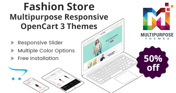 Fashion – ECommerce Responsive OpenCart Theme