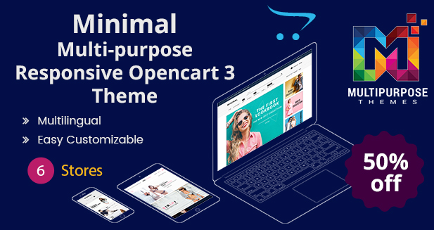 Minimal – Multi-purpose Premium OpenCart Templates 2019