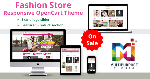 Fashion Store Responsive OpenCart Themes