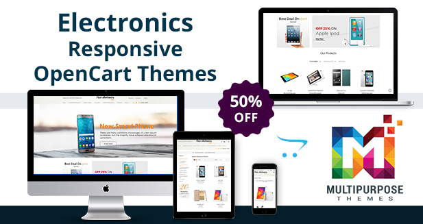 Your Electronics Store – Premium OpenCart Themes