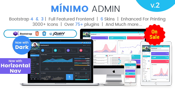 Premium Admin Dashboard Template