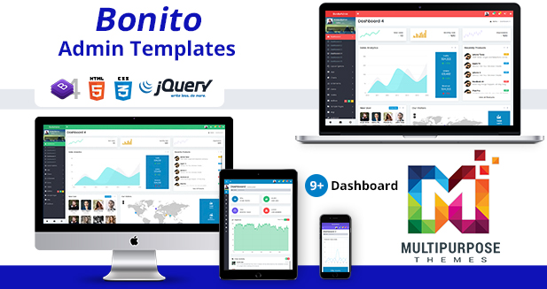 Bootstrap 4 Admin Templates
