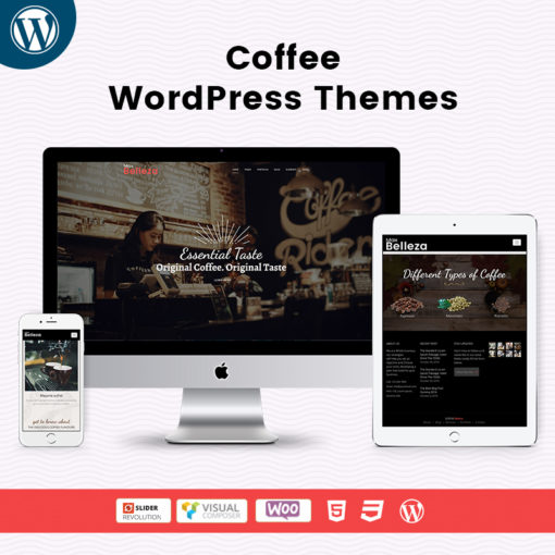 Coffee Shop- Responsive WordPress Themes For MultiPurpose