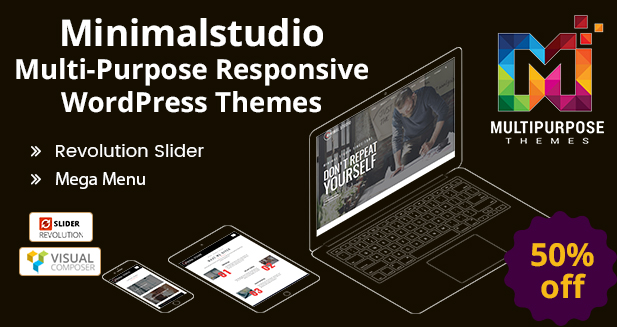 Minimal Studio – Premium WordPress Themes