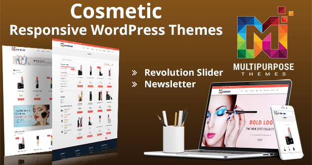 Cosmetic Website Theme – Premium Responsive WordPress Themes