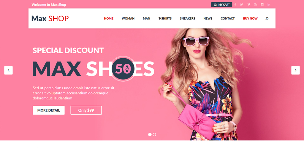 Responsive WordPress Themes Based On WooCommerce 2018