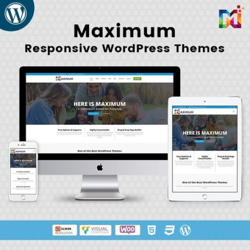 Maximum Base Responsive WordPress Themes