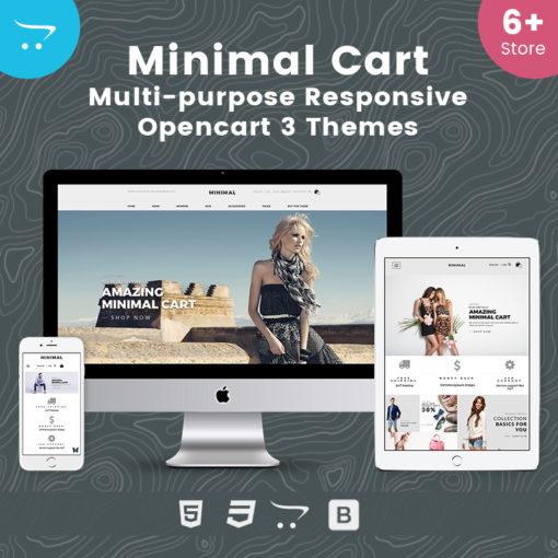 Minimal Cart – Multipurpose Responsive OpenCart 3 Theme