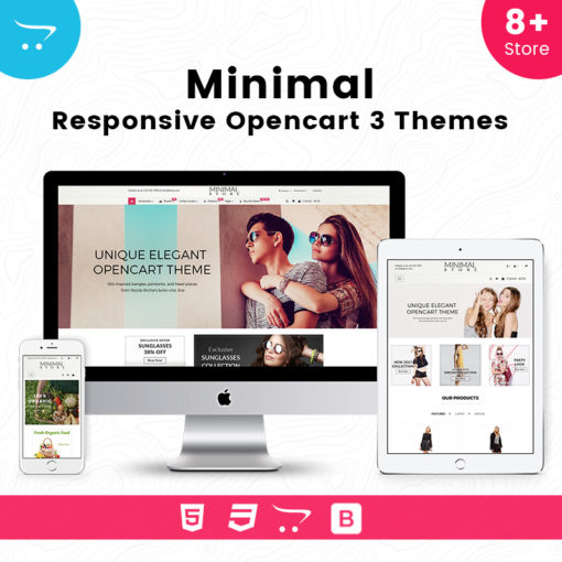 Minimal – Responsive OpenCart Theme