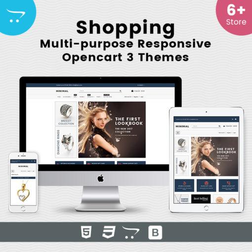 Shopping – Responsive Opencart 3 Theme