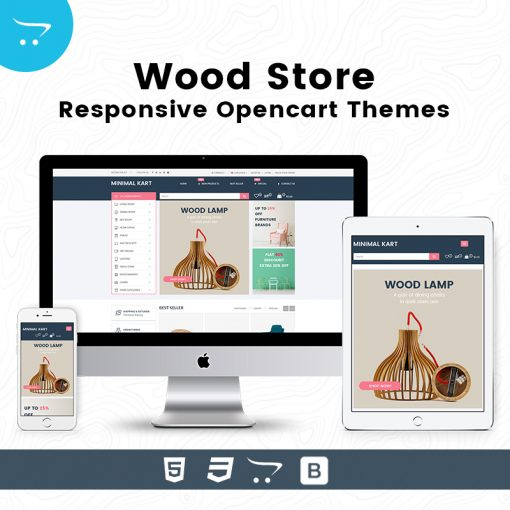 Wood Store – Responsive Opencart Themes
