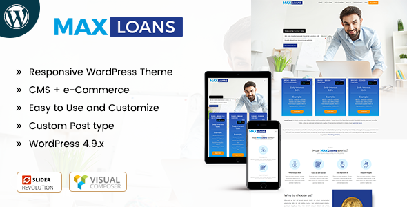 Finance The Best Responsive WordPress Themes