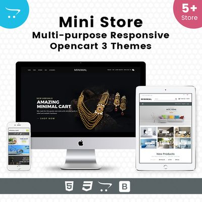 Mini Store – Multipurpose Responsive OpenCart Themes