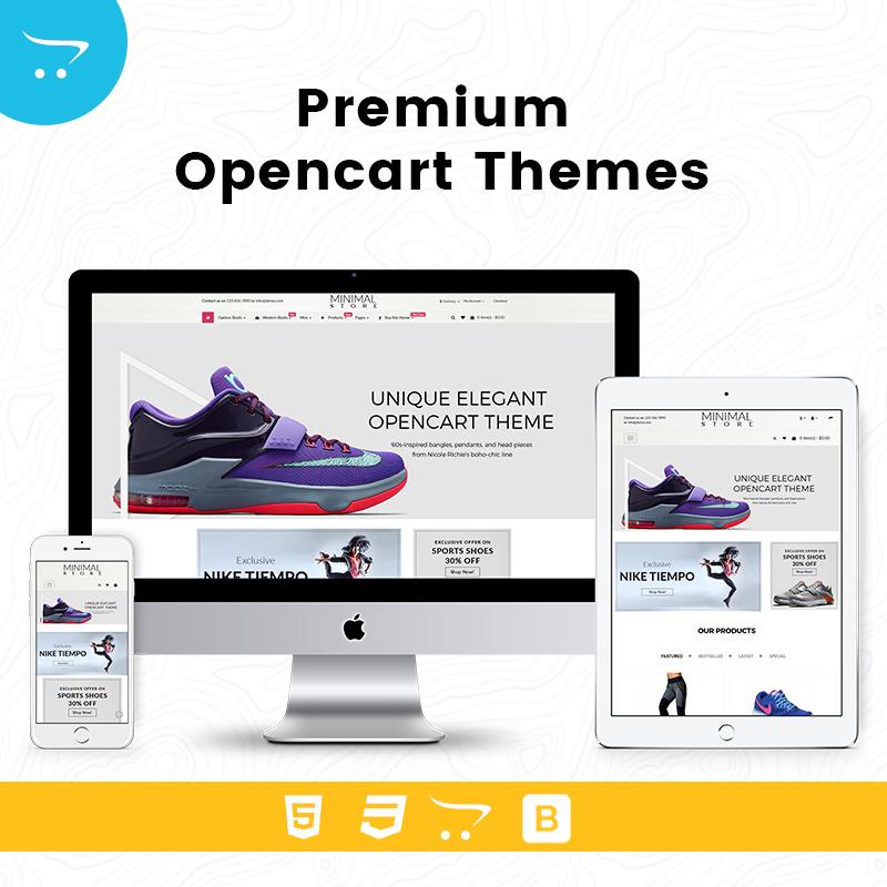 Minimal Store 1 – Premium OpenCart Themes