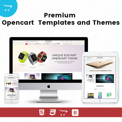 Minimal Store 4 – Premium OpenCart Templates And Themes