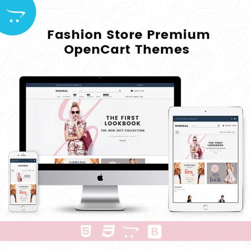 Minimal Fashion Store 1 – Premium OpenCart Themes